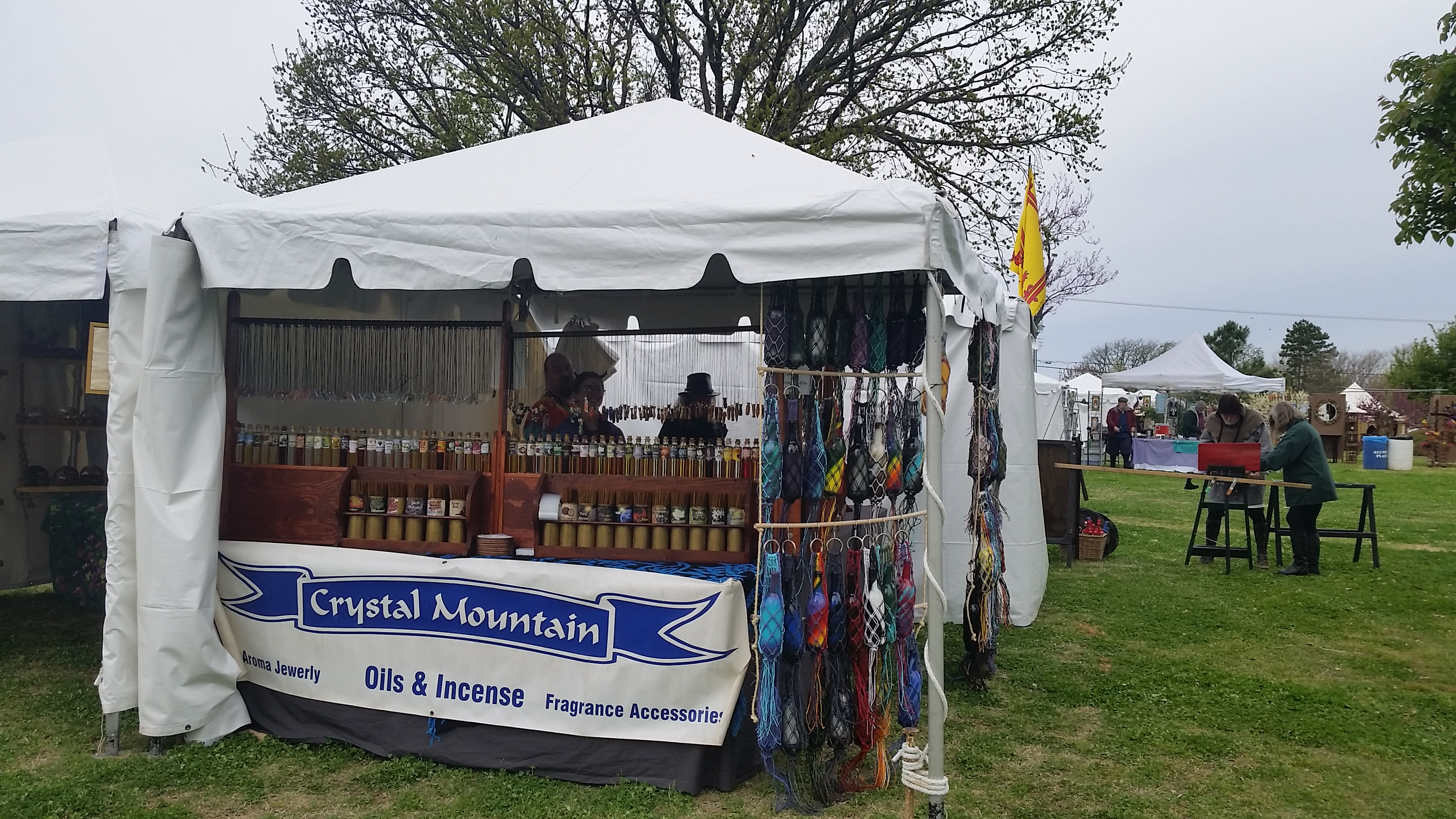 Crystal Mountain at the Norman Medieval Faire in Norman, Oklahoma
